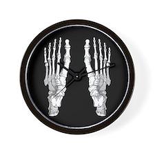 Foot Bones Wall Clock