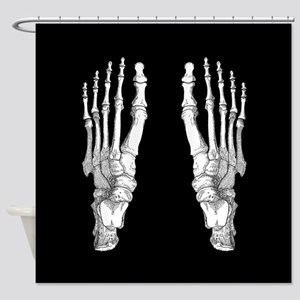 Foot Bones Shower Curtain