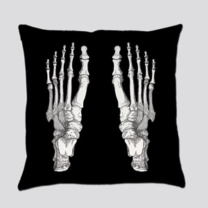 Foot Bones Everyday Pillow