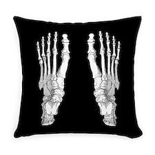 Foot Bones Everyday Pillow
