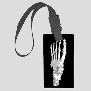 Foot Bones Large Luggage Tag