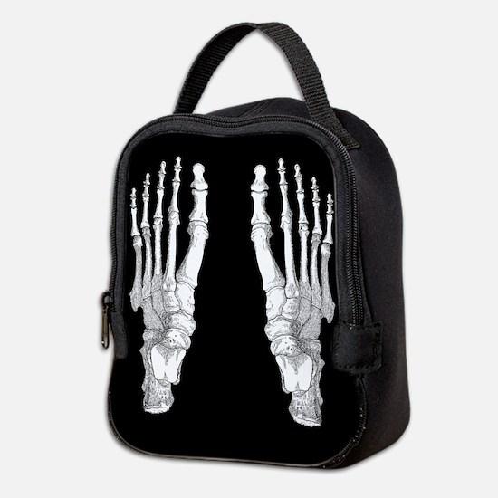 Foot Bones Neoprene Lunch Bag