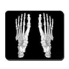 Foot Bones Mousepad