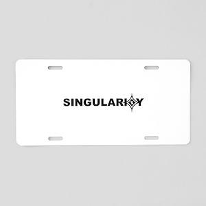 Singularity Aluminum License Plate