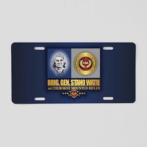 Watie C2 Aluminum License Plate