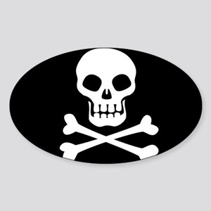 Pirate Flag Skull And Crossbones Sticker