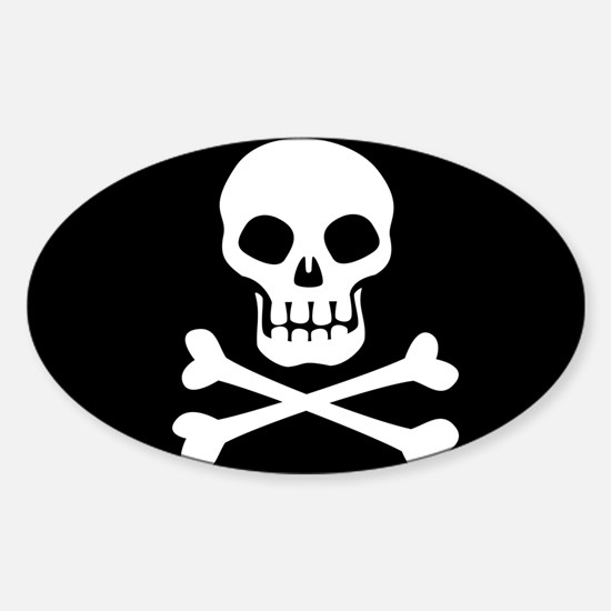 Pirate Flag Skull And Crossbones Decal