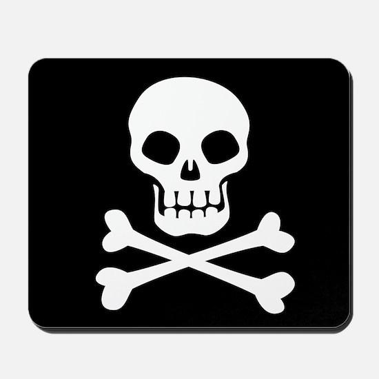Pirate Flag Skull And Crossbones Mousepad