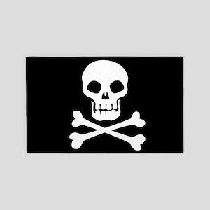 Pirate Flag Skull And Crossbones Area Rug