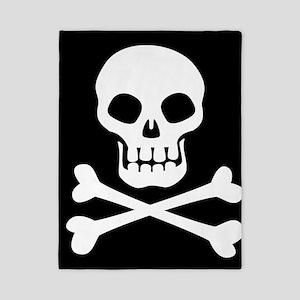 Pirate Flag Skull And Crossbones Twin Duvet