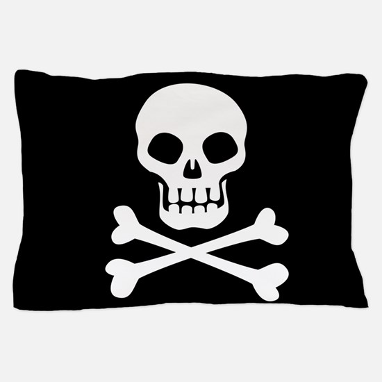 Pirate Flag Skull And Crossbones Pillow Case