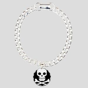 Pirate Flag Skull And Crossbones Bracelet