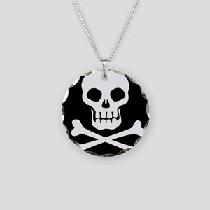 Pirate Flag Skull And Crossbones Necklace
