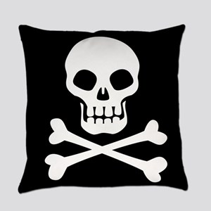 Pirate Flag Skull And Crossbones Everyday Pillow