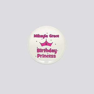 Mikayla Grace 1st Birthday Pr Mini Button