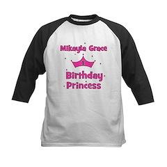 Mikayla Grace 1st Birthday Pr Kids Baseball Jersey