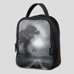 Bat Grave Night Neoprene Lunch Bag