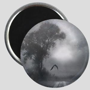 Bat Grave Night Magnet