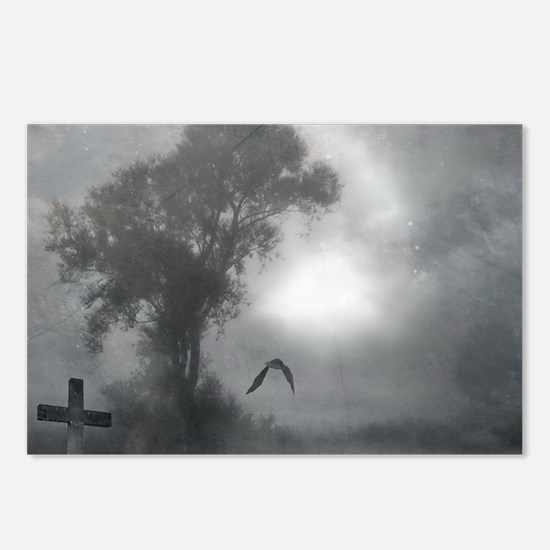 Bat Grave Night Postcards (Package of 8)