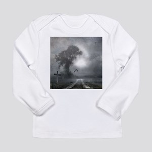 Bat Grave Night Long Sleeve Infant T-Shirt