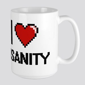 I Love Insanity Mugs