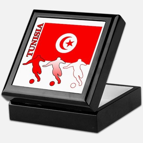 Tunisia Soccer Keepsake Box