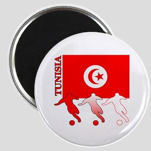 """Tunisia Soccer 2.25"""" Magnet (10 pack)"""