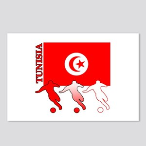 Tunisia Soccer Postcards (Package of 8)