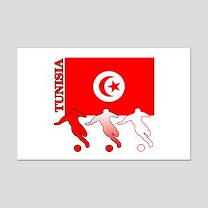 Tunisia Soccer Mini Poster Print
