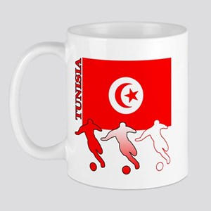 Tunisia Soccer Mug