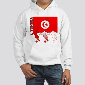 Tunisia Soccer Hooded Sweatshirt