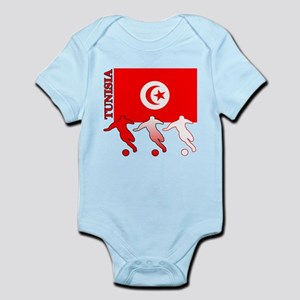 Tunisia Soccer Infant Bodysuit