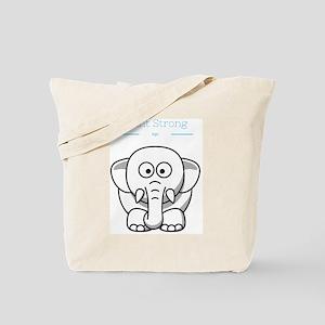 Plant strong Vegan Tote Bag