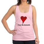 heart4 Racerback Tank Top