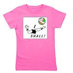 i shall vball Girl's Tee