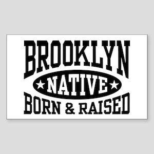 Brooklyn Native Sticker (Rectangle)