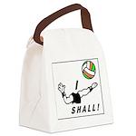 i shall vball Canvas Lunch Bag