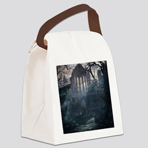 Druid Temple Canvas Lunch Bag