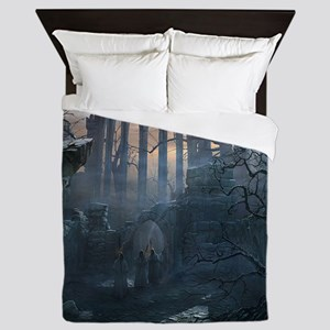 Druid Temple Queen Duvet