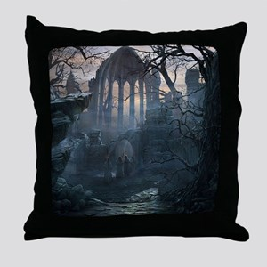 Druid Temple Throw Pillow