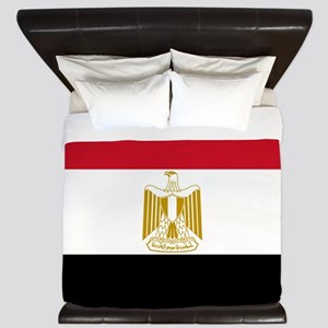Flag Of Egypt King Duvet