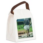 kerala_lungi Canvas Lunch Bag