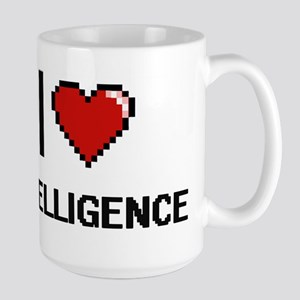 I Love Intelligence Mugs