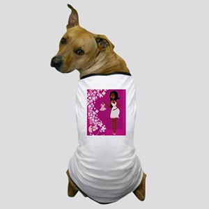 african american pregnant Dog T-Shirt