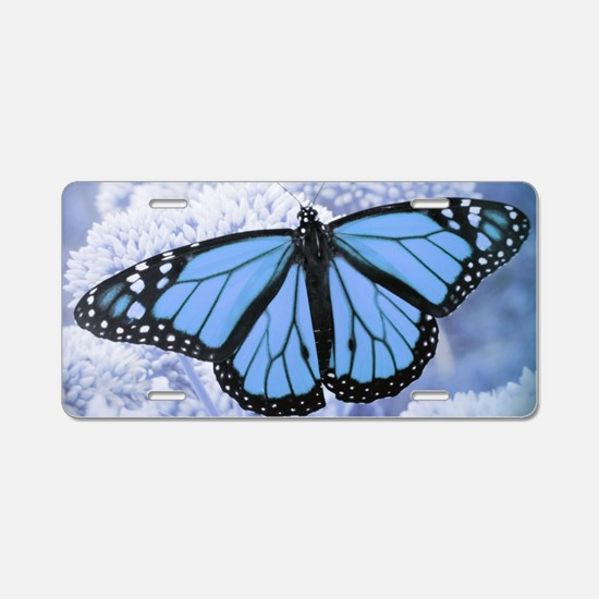 Cute Butterfly Aluminum License Plate