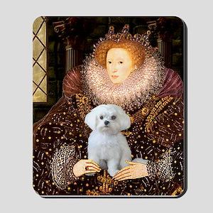 The Queen's Maltese Mousepad