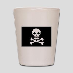 Pirate Flag Skull And Crossbones Shot Glass