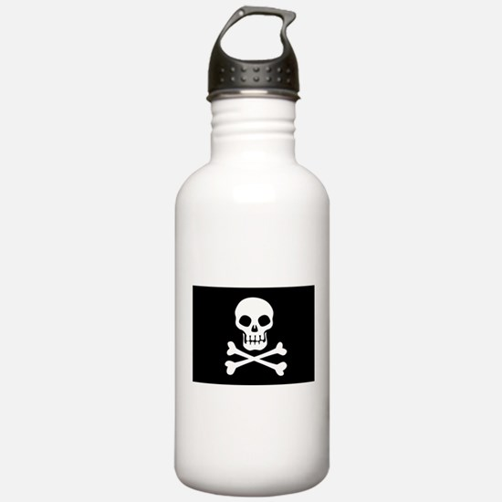 Pirate Flag Skull And Crossbones Water Bottle
