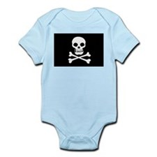 Pirate Flag Skull And Crossbones Body Suit