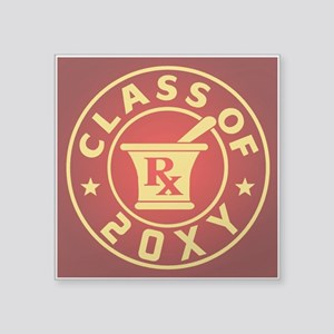 "Class of 20?? Pharmacy Square Sticker 3"" x 3"""